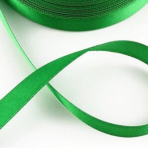 Panglica saten latime 1,4cm (1m) - verde
