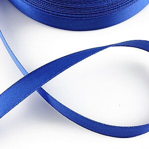 Panglica saten latime 1,4cm (1m) - albastru safir