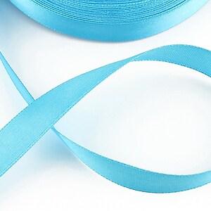 Panglica saten latime 1,4cm (1m) - bleu
