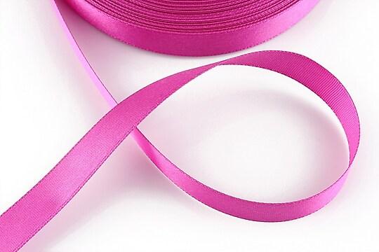 Panglica saten latime 1,4cm (1m) - roz bonbon