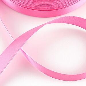 Panglica saten latime 1,4cm (1m) - roz