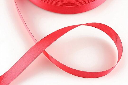 Panglica saten latime 1,4cm (1m) - roz corai