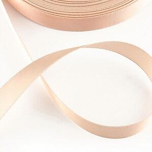 Panglica saten latime 1,4cm (1m) - rose blush
