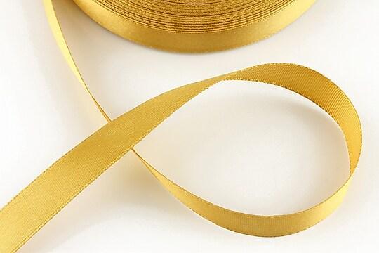 Panglica saten latime 1,4cm (1m) - crem auriu