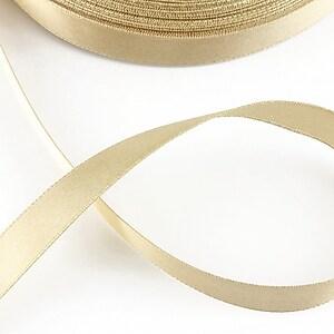 Panglica saten latime 1,4cm (1m) - bej