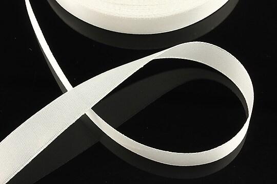 Panglica saten latime 1,4cm (1m) - alb