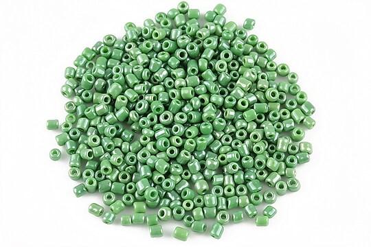 Margele de nisip 2mm lucioase (50g) - cod 353 - verde
