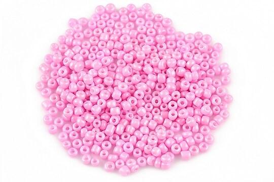 Margele de nisip 2mm lucioase (50g) - cod 359 - roz
