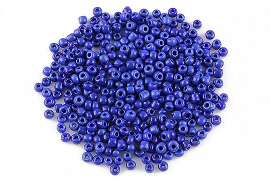 Margele de nisip 2mm opace (50g) - cod 362 - albastru intens