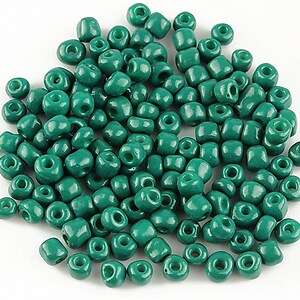 Margele de nisip 4mm (50g) - cod 372 - verde pin