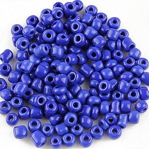 Margele de nisip 4mm (50g) - cod 374 - albastru cobalt
