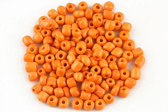 Margele de nisip 4,5mm opace (50g) - cod 386 - portocaliu