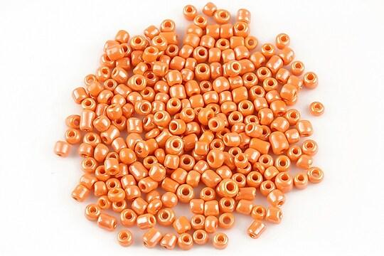 Margele de nisip 3mm lucioase (50g) - cod 414 - portocaliu