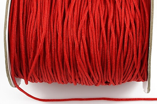 Snur nylon grosime 1,8mm (1m) - rosu inchis