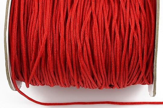 Snur nylon Taiwan grosime 1,8mm (1m) - rosu inchis