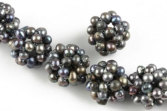 Bulgarasi 16mm formati din perle de cultura margele 4mm