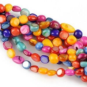 Chipsuri sidef colorat nuggets