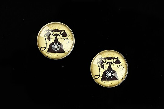 "Cabochon sticla 16mm ""Old Props"" cod 630"