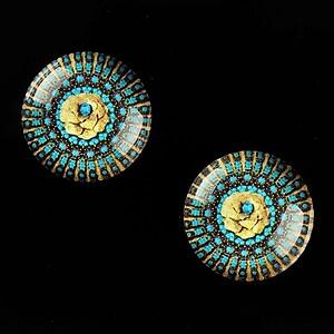 "Cabochon sticla 18mm ""Vintage Jewels"" cod 658"
