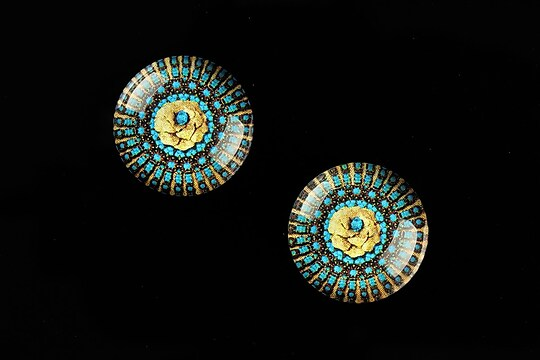 "Cabochon sticla 18mm ""Vintage Jewels"" cod 658"
