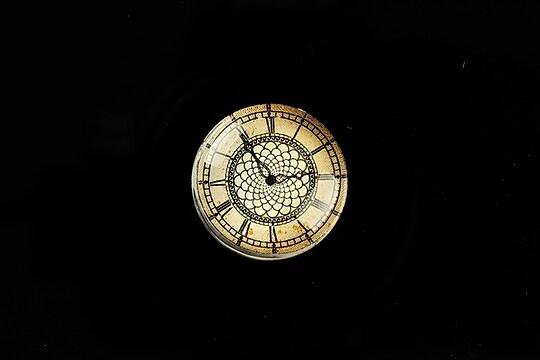 "Cabochon sticla 20mm ""Old Clock"" cod 696"