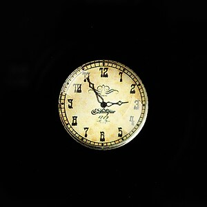 "Cabochon sticla 20mm ""Old Clock"" cod 698"