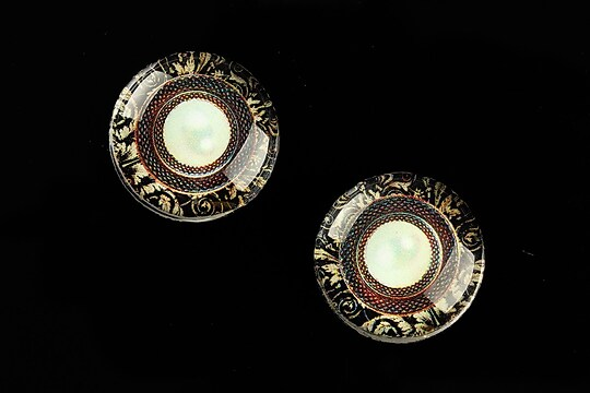 "Cabochon sticla 20mm ""Vintage Jewels"" cod 705"