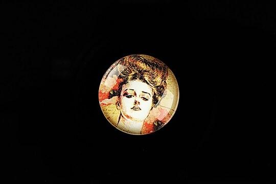 "Cabochon sticla 20mm ""Gilmore Girls"" cod 743"