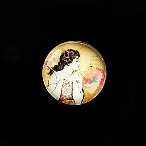 "Cabochon sticla 20mm ""Gilmore Girls"" cod 745"