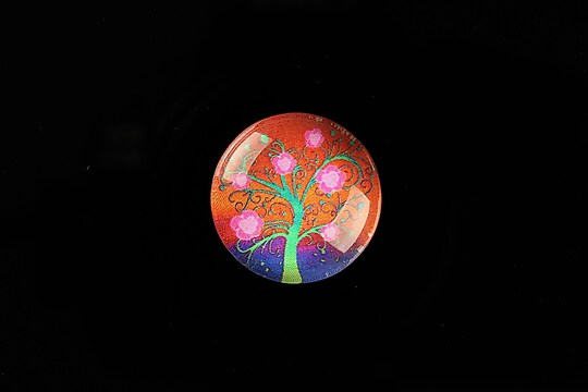 "Cabochon sticla 20mm ""Tree of Life"" cod 766"