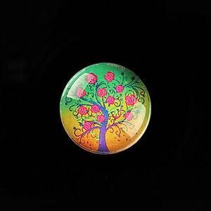 "Cabochon sticla 20mm ""Tree of Life"" cod 768"