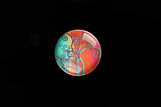 "Cabochon sticla 20mm ""Tree of Life"" cod 767"