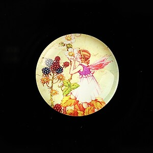 "Cabochon sticla 25mm ""Little Fairy"" cod 787"