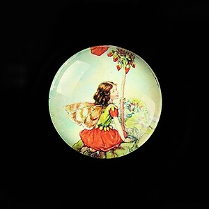 "Cabochon sticla 25mm ""Little Fairy"" cod 788"