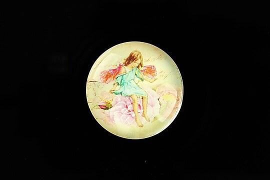 "Cabochon sticla 25mm ""Little Fairy"" cod 789"