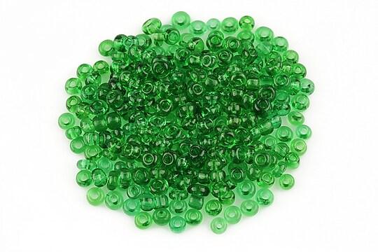 Margele de nisip transparente 3mm (50g) - cod 452 - verde