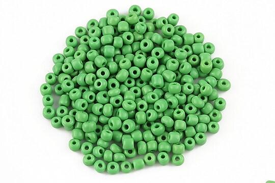Margele de nisip opace 3mm (50g) - cod 464 - verde