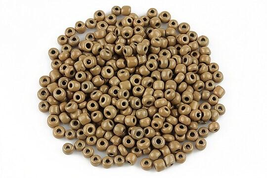 Margele de nisip opace 3mm (50g) - cod 474 - maro deschis