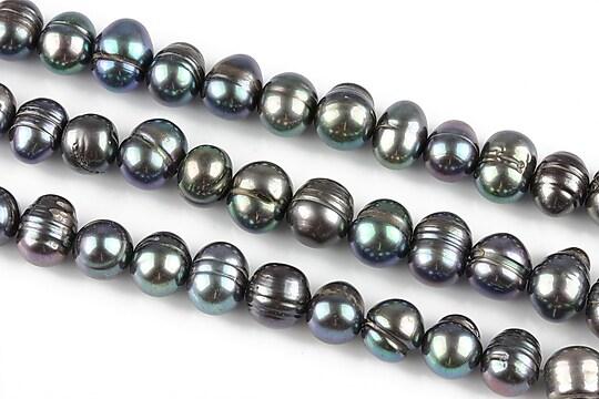 Sirag perle de cultura aprox. 7-9mm, iris