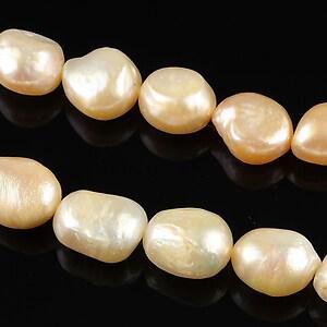 Sirag perle de cultura aprox. 10mm, crem