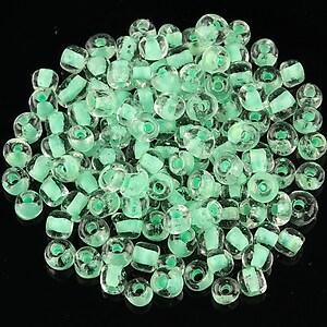 Margele de nisip 4mm (50g) - cod 242 - verde deschis