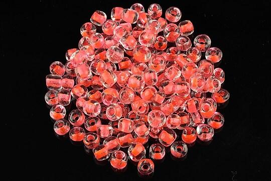 Margele de nisip 4mm (50g) - cod 246 - portocaliu neon