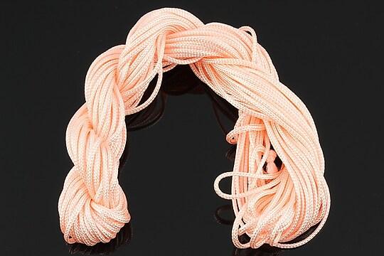 Ata nylon, grosime 2mm, 12m, roz deschis