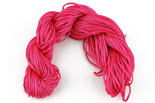 Ata nylon, grosime 1mm, 28m, fucsia
