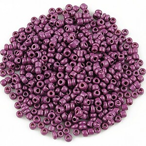 Margele de nisip 2mm opace (50g) - cod 522 - mov ametist
