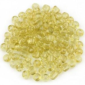 Margele de nisip 4mm (50g) - cod 527 - galben auriu