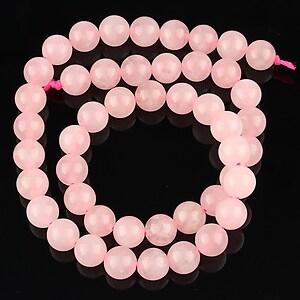 Sirag cuart roz sfere 8mm