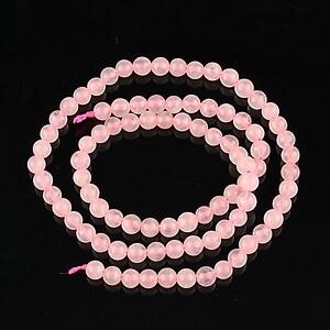 Sirag cuart roz sfere 4mm