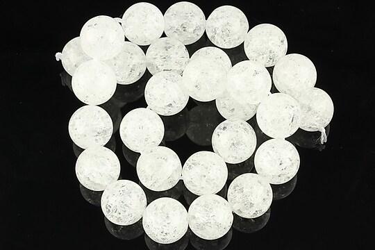Sirag cristal de gheata sfere 14mm