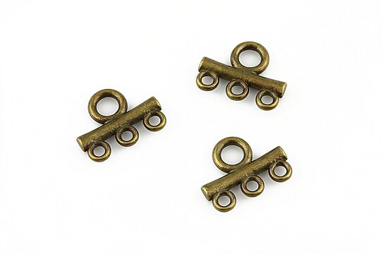 Link multisir cu 3 bucle bronz 13x16mm